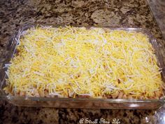 A Stroll Thru Life: Feed A Crowd For Under $5.  Marty's Hamburger  Cheese Casserole