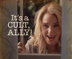 It's a cult, Ally! / AHS CULT