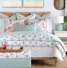 Islands Starfish Luxury Bedding Collection | Nautical Luxuries