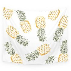 "Society6 Pineapple Wall Tapestry Small: 51"" x 60"" Society6"