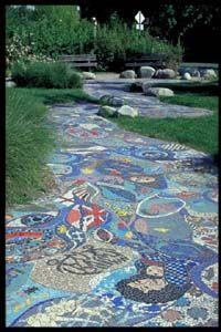 Mosaic Creek Park Glen Andersen, Sarah White and Kristine Germann  Public Art Registry