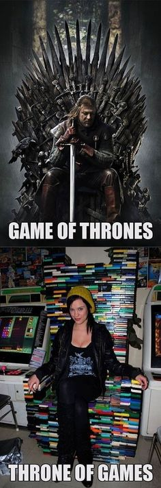 Game of Thrones ou Throne os Games?! :-)