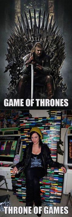 Game of Thrones ou Throne os Games?! :-)