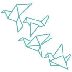 37 Ideas For Origami Tattoo Bird Paper Sculptures Origami Love Heart, Origami Star Box, Origami Stars, Origami Mouse, Origami Fish, Origami Birds, Origami Paper, Dollar Origami, Origami Ball