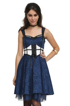 """I need one of these dresses!!!!!!! This New """"Doctor Who"""" Clothing Line Is Size-Inclusive And Awesome"""