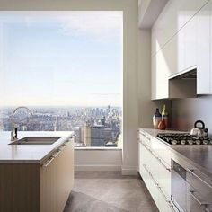 Perfect Penthouse Kitchen