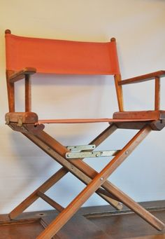 vintage directors chairs