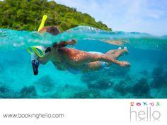 LGBT ALL INCLUSIVE AL CARIBE. Si deseas iniciar una nueva aventura con tu pareja durante las vacaciones, el snorkeling es una gran opción, ya que les permitirá conocer más de cerca la vida marina, contemplar arrecifes de coral, peces multicolor y una lista interminable de la fauna que habita en las aguas del Mar Caribe. En Booking Hello, te recordamos que podrás disfrutar nuestros packs en México o República Dominicana, ambos perfectos para vivir esta experiencia. #BeHello