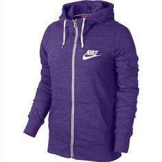 44.95$  Buy now - http://vizzf.justgood.pw/vig/item.php?t=9nycdzr33919 - Women's Nike Long-Sleeve Gym Vintage Full Zip Hoodie Sweatshirt!!! IN PURPLE!!!! 44.95$