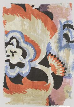 Textile sample Wiener Werkstätte Designer: Designer Unknown Date: 1910–28 Medium: Silk - cf. suzani