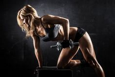 The best Bodybuilding workouts for Women should be specifically tailored to Women's Body types, Hormonal and Anatomical makeups. This article will share a brief history of the evolution of female Bodybuilding and explain the best Bodybuilding Workouts. Best Workout Music, Full Body Gym Workout, Workout Fitness, Curves Workout, Woman Workout, Girl Workout, Sport Motivation, Fitness Motivation, Female Motivation