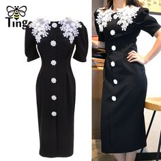 Vintage Lace, Vintage Dresses, Cheap Dresses, Dresses For Work, Trendy Fashion, Fashion Outfits, Womens Dress Suits, Black Party Dresses, Summer Outfits