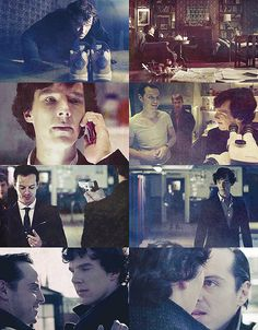 Sherlock and Moriarty.