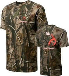 Kevin Harvick #29 Realtree Camouflage Driver T-Shirt by Realtree. $26.99. Gear up race fans, show that Kevin Harvick is your all-time favorite by donning this piece from Realtree Outfitters by The Game. Sleek, stylish and comfortable this piece of apparel will wow the masses.