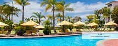 Park Hyatt Aviara Resort - Carlsbad. Beautiful grounds and landscaping, 18 hole Arnold Palmer golf course, Signature Aviara Spa. 329 guest rooms.