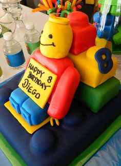 Lego Party Birthday Party Ideas | Photo 2 of 19 | Catch My Party