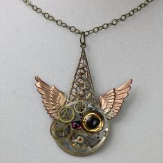 Here's a cool Steampunk style made by Harry Wood of Oscar Crow.