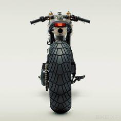 Honda XL600 custom motorcycle