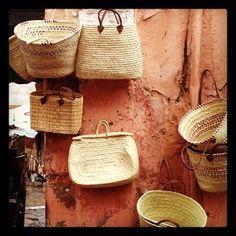 Baskets...Marrakech, Morocco
