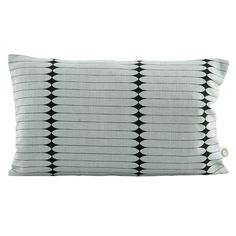 Graphic pillowcase in grey by house doctor House Doctor, Grey Cushions, Printed Cushions, Textiles, Cadeau Design, Black Rectangle, Soft Furnishings, Home Decor Accessories, Modern Industrial