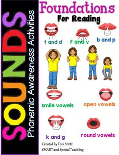 These phonemic awareness activities are based on the Lindamood Phonemic Awareness Program. (LIPS) and the Take Flight Reading Program. The program emphasizes the movements the mouth makes to produce sounds. With this program students are encouraged to hear, feel, and see the sounds. This is very im...