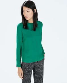Image 1 of ZIP TOP from Zara