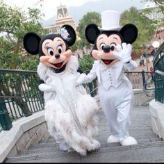 #Mickey_Mouse & #Minnie #Disney