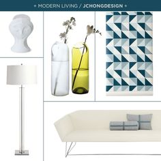Modern Living / Jennifer Chong created on projectdecor.com