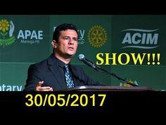 SÉRGIO MORO 30/05/2017 OVACIONADO! - LAVA JATO EM CIMA DA BANDIDAGEM!
