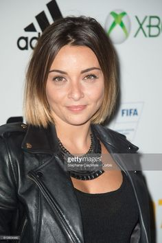 Photo d'actualité : Priscilla Betti attends the Fifa 17 Xperience...