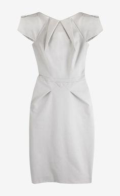 Roland Mouret White Dress | VAUNTE