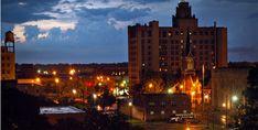 Downtown Lights in Monroe, Louisiana
