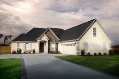 This is one of the homes on Deneen Road.  There are still a few lots to build your dream home.