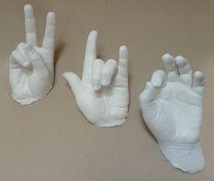 DIY Alginate hands mould recipe and method