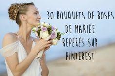 30 jolis bouquets de roses de mariée repérés sur Pinterest Wedding Flowers, Wedding Dresses, One Shoulder Wedding Dress, Marie, Bouquets, Album Photo, Comme, Organiser, Art Floral