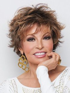 The VOLTAGE (Shadow Shades) synthetic hair wig by Raquel Welch from Wilshire Wigs is a wig for women who want a short spiky style for an energetic look. Wilshire Wigs, Raquel Welch Wigs, Curly Hair Styles, Natural Hair Styles, Wispy Bangs, Short Wigs, Curly Short, Short Shag, Long Pixie