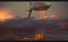 Destroyer's Bombing Run by *AdamKop on deviantART