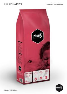 AMITY • REALLY PET FOOD #pet #food #packaging for more information visit us at www.coffeebags.co.za