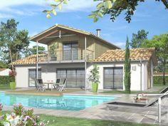 ALIENA 120 m2 - QUADRI - Constructeur de maison individuelle ossature bois et traditionnelle en Gironde - Plan de maison
