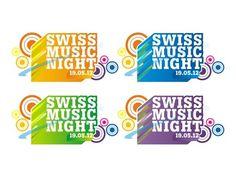 Swiss Music Night Music Festival Logos, Logo Google, Logo Design, Logo Ideas, Google Search, Night