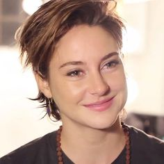 Her face, her smile, the smile in her eyes, so cute ❤️ {#shailenewoodley }