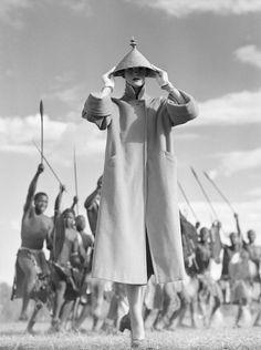 Zulu War Dance, Norman Parkinson