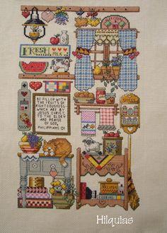 Cross Stitch Needles, Cross Stitch Samplers, Cross Stitching, Cross Stitch Embroidery, Hand Embroidery, Cross Stitch Designs, Cross Stitch Patterns, Swedish Weaving, Cross Stitch Kitchen