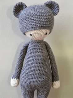 meo my crochet: Boo Bear Pattern