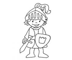 ausmalbild märchen burgfräulein | dibuixos per pintar