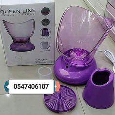 جهاز بخار الوجه يعمل بواسطة الكهرباء كل ما عليك وضع القليل من الماء والجهاز يقوم بعمل البخار جهاز البخار الوجه يعمل على Kitchen Appliances Coffee Maker Keurig