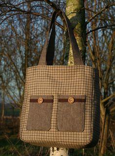 hampshire tweed & tartan bag | Flickr - Photo Sharing!
