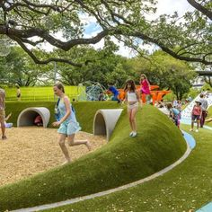 earthworks playground inspo (but need art deco style)
