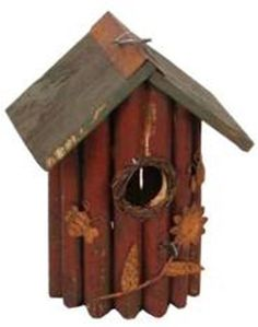 Special Offers - Garden Decoration HT10152BUR Birdhouse 8.5-Inch Burgundy - In stock & Free Shipping. You can save more money! Check It (August 02 2016 at 02:21AM) >> http://birdhouseusa.net/garden-decoration-ht10152bur-birdhouse-8-5-inch-burgundy/