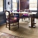 Sew What-Tan carpet tile by FLOR - flor.com #HolidayGiveawayWeek
